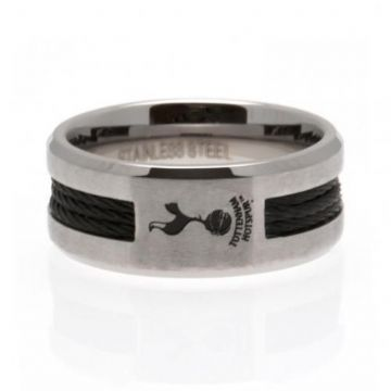 Tottenham Hotspur Black Inlay Ring - Large